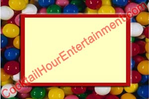 digital backdrop sample 40 candy jelly beans frame