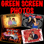 digital greenscreen backdrops