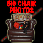 big chair photos carnival game