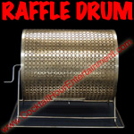 Raffle Drum for carnivals or fairs
